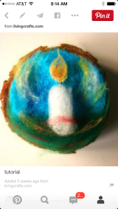 Pinterest felting project